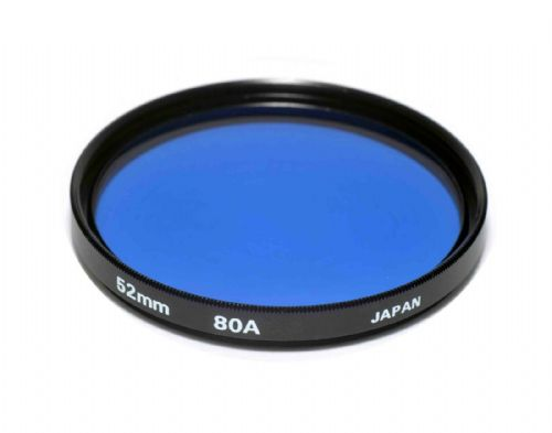 High Quality Optical Glass 80A Filter Made in Japan 52mm Kood